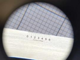 Mess-Skala-50µm Laser-Skalierung von Gebrüder HAFF Pfronten